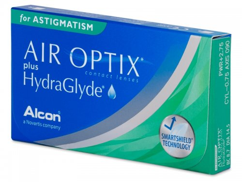 Air Optix plus HydraGlyde for Astigmatism (6 linssiä), Alcon