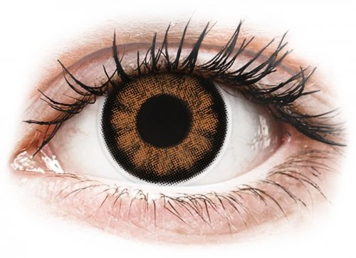 ColourVUE BigEyes Sexy Brown - power, Maxvue Vision