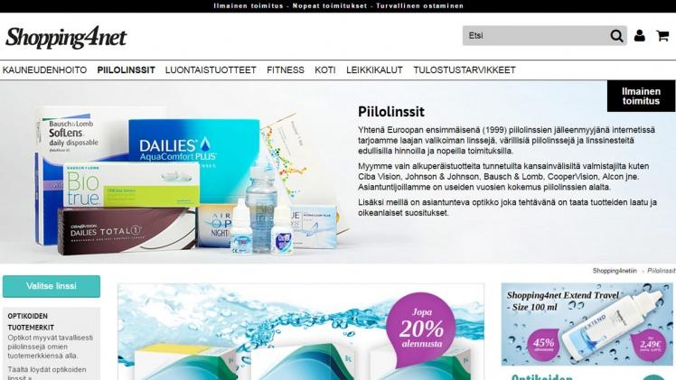 Shopping4net piilolinssit