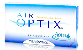 Air Optix piilolinssit